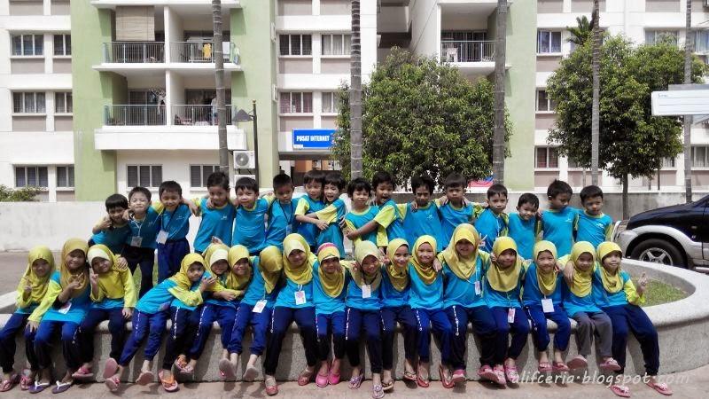 The squad - 33 6yo kids from Alif Ceria P18